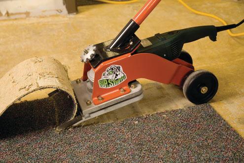 linoleum floor removal machine